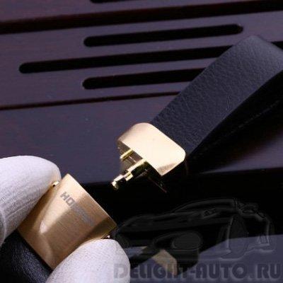 Брелок с кожаным ремешком HONEST/727